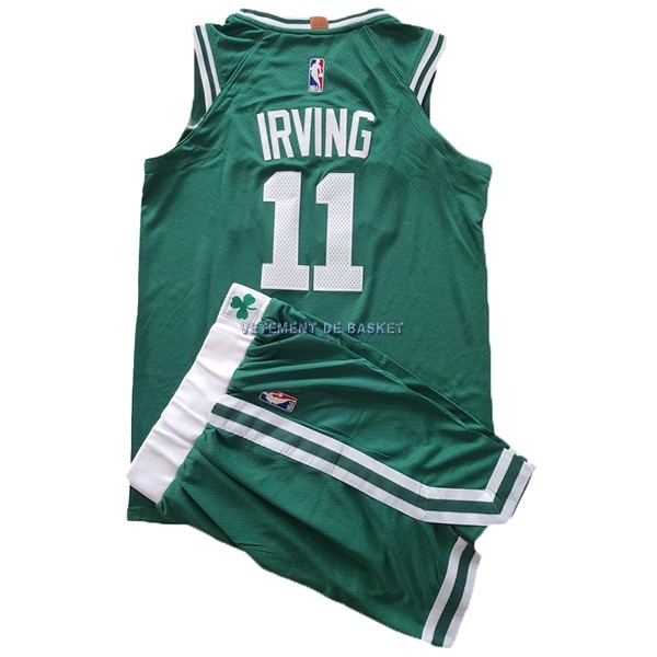 Maillot NBA Ensemble Complet Enfant Boston Celtics NO.11 Kyrie Irving Vert