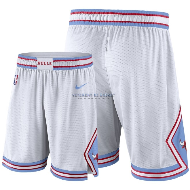 Short Basket Chicago Bulls Nike Blanc 2018-19