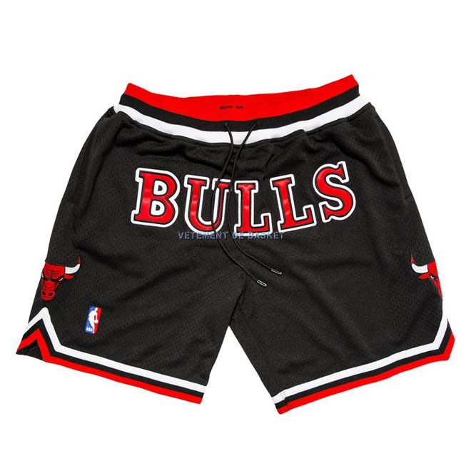 Short Basket Chicago Bulls Nike Retro Noir 2018