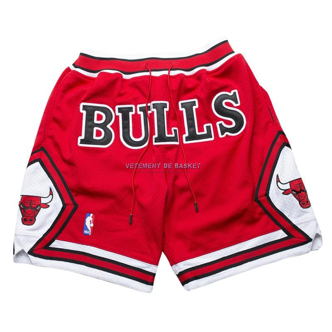 Short Basket Chicago Bulls Nike Retro Rouge 2018