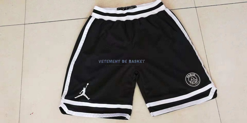 Short Basket Jordan x Paris Saint-Germain Noir
