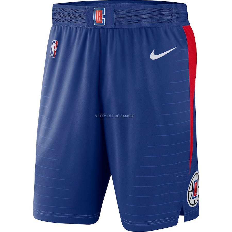 Short Basket Los Angeles Clippers Nike Bleu Icon 2018