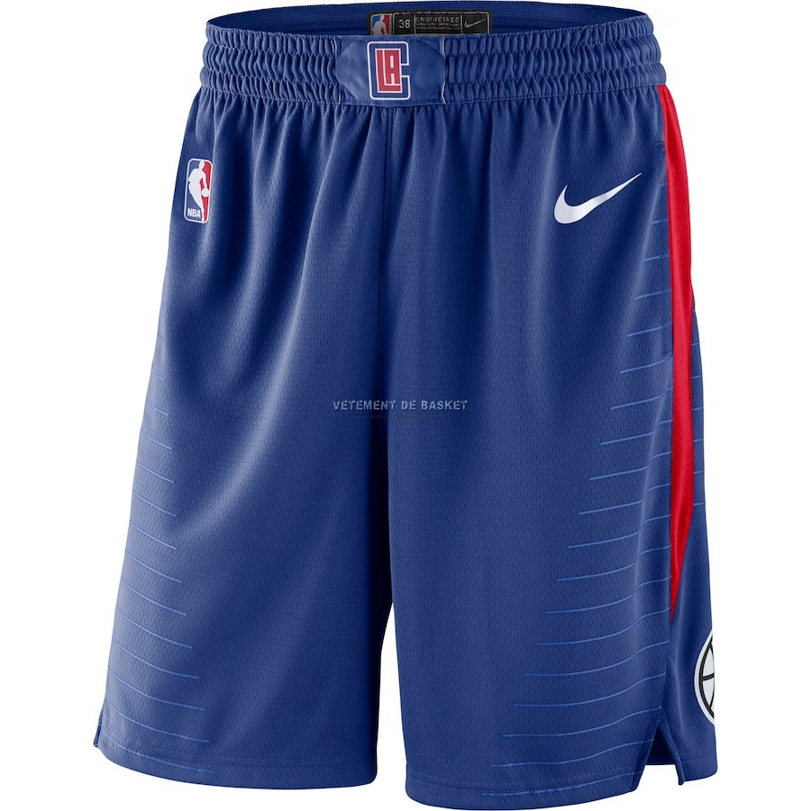 Short Basket Los Angeles Clippers Nike Royal Bleu 2018