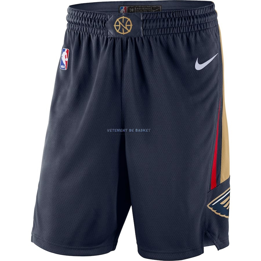 Short Basket New Orleans Pelicans Nike Marine Icon 2018