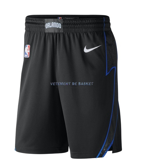Short Basket Orlando Magic Nike Noir Ville 2018-19