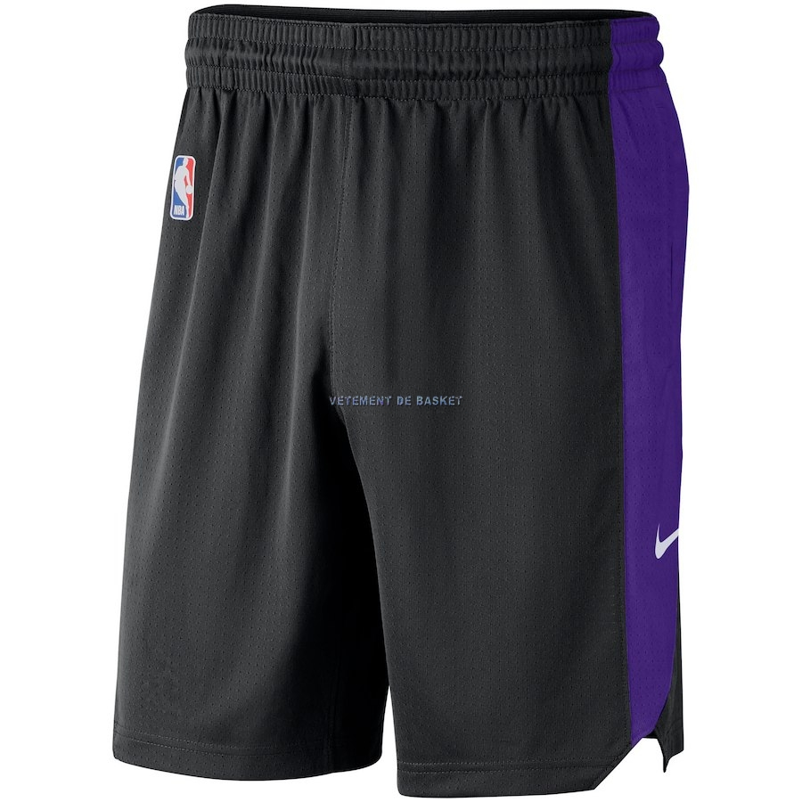 Short Basket Sacramento Kings Nike Noir 2018