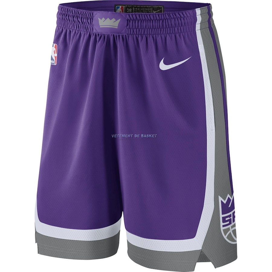 Short Basket Sacramento Kings Nike Pourpre Icon 2018