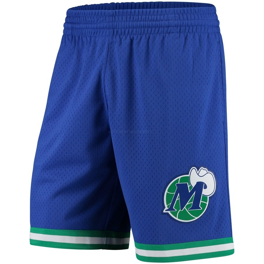 Pantalon Basket Dallas Maverick Bleu Hardwood Classics