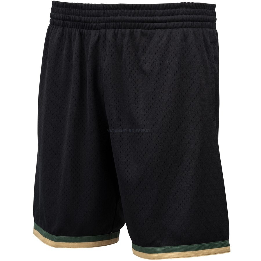 Pantalon Basket Houston Rockets Noir Hardwood Classics
