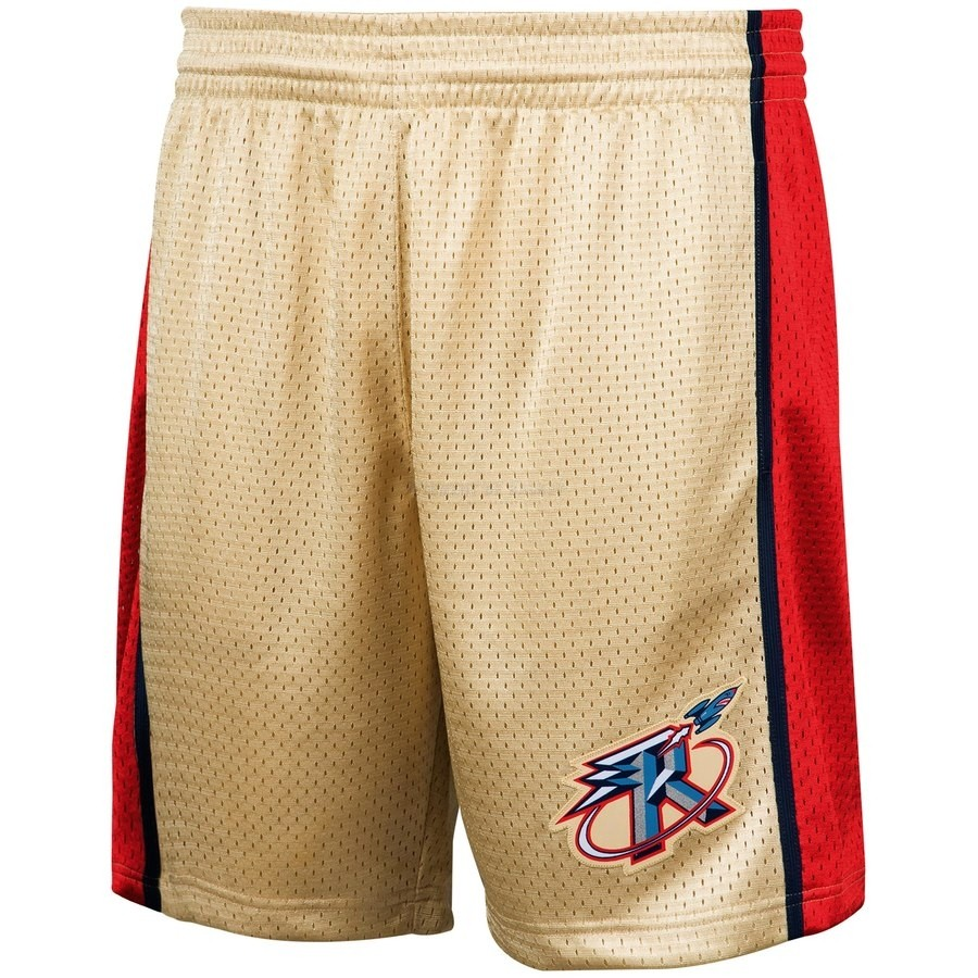 Pantalon Basket Houston Rockets Or Hardwood Classics