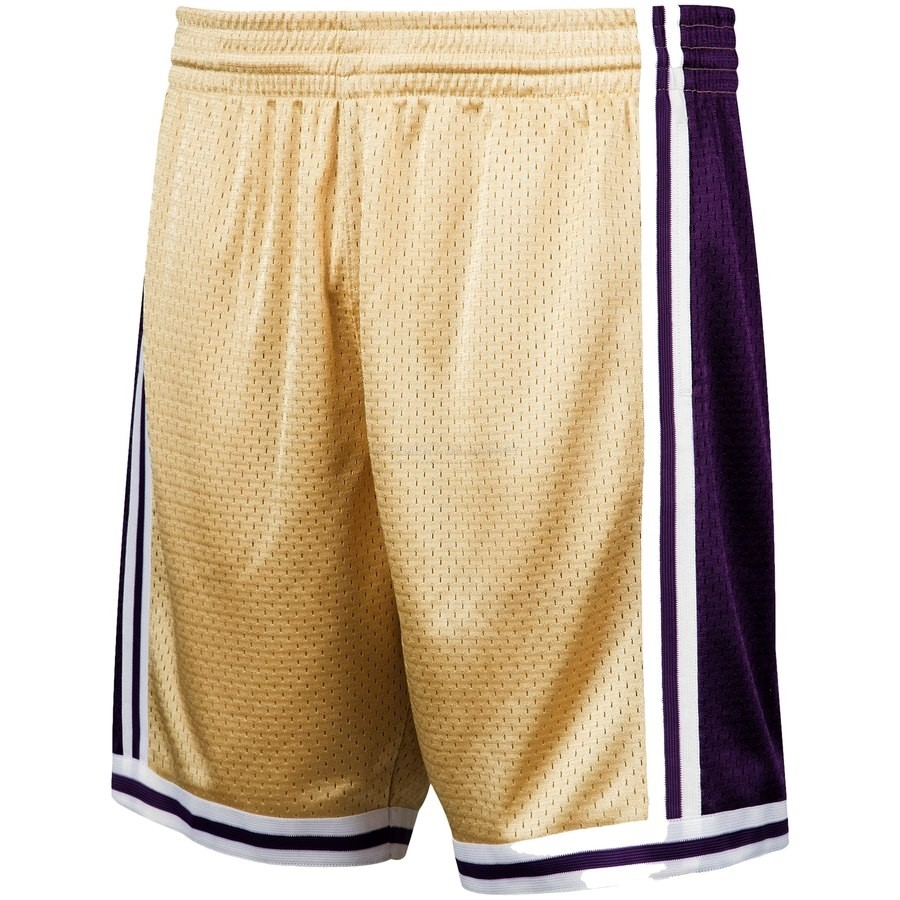 Pantalon Basket Los Angeles Lakers Or Hardwood Classics