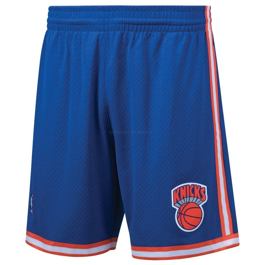 Pantalon Basket New York Knicks Bleu Hardwood Classics