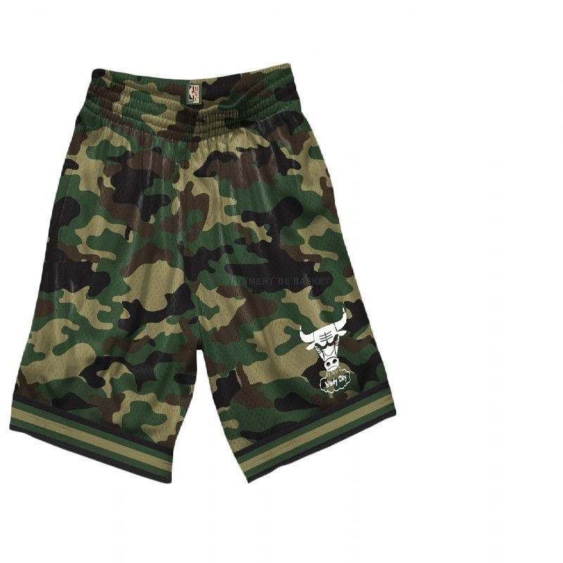 Short Basket Chicago Bulls Camouflage