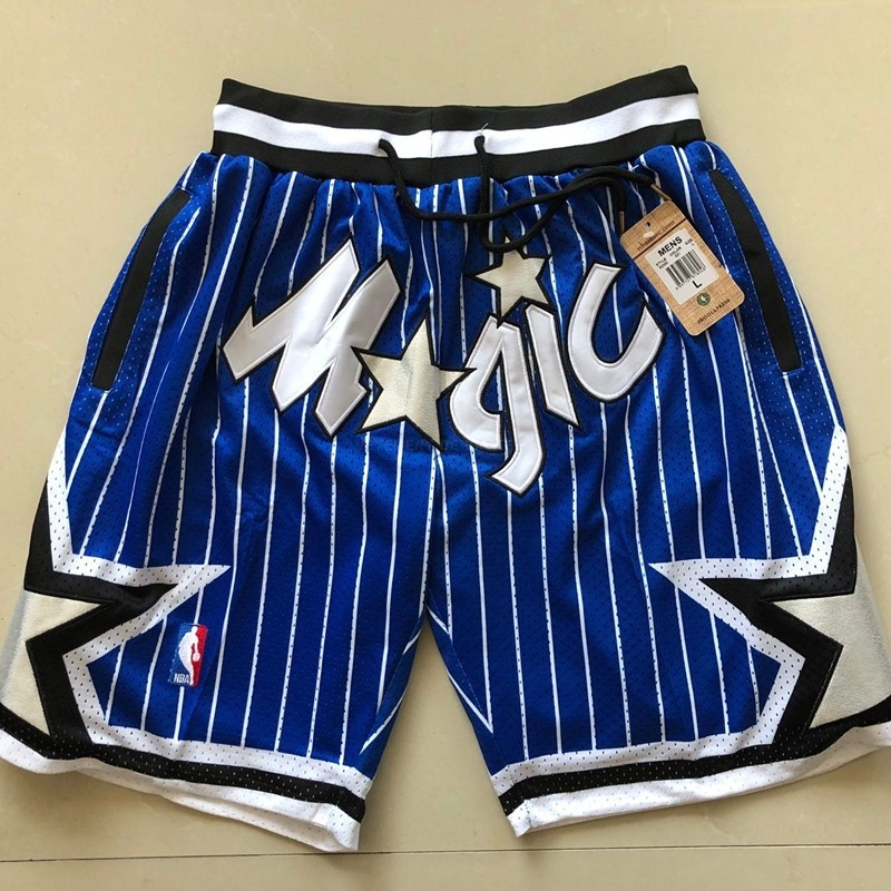 Short Basket Orlando Magic Bleu