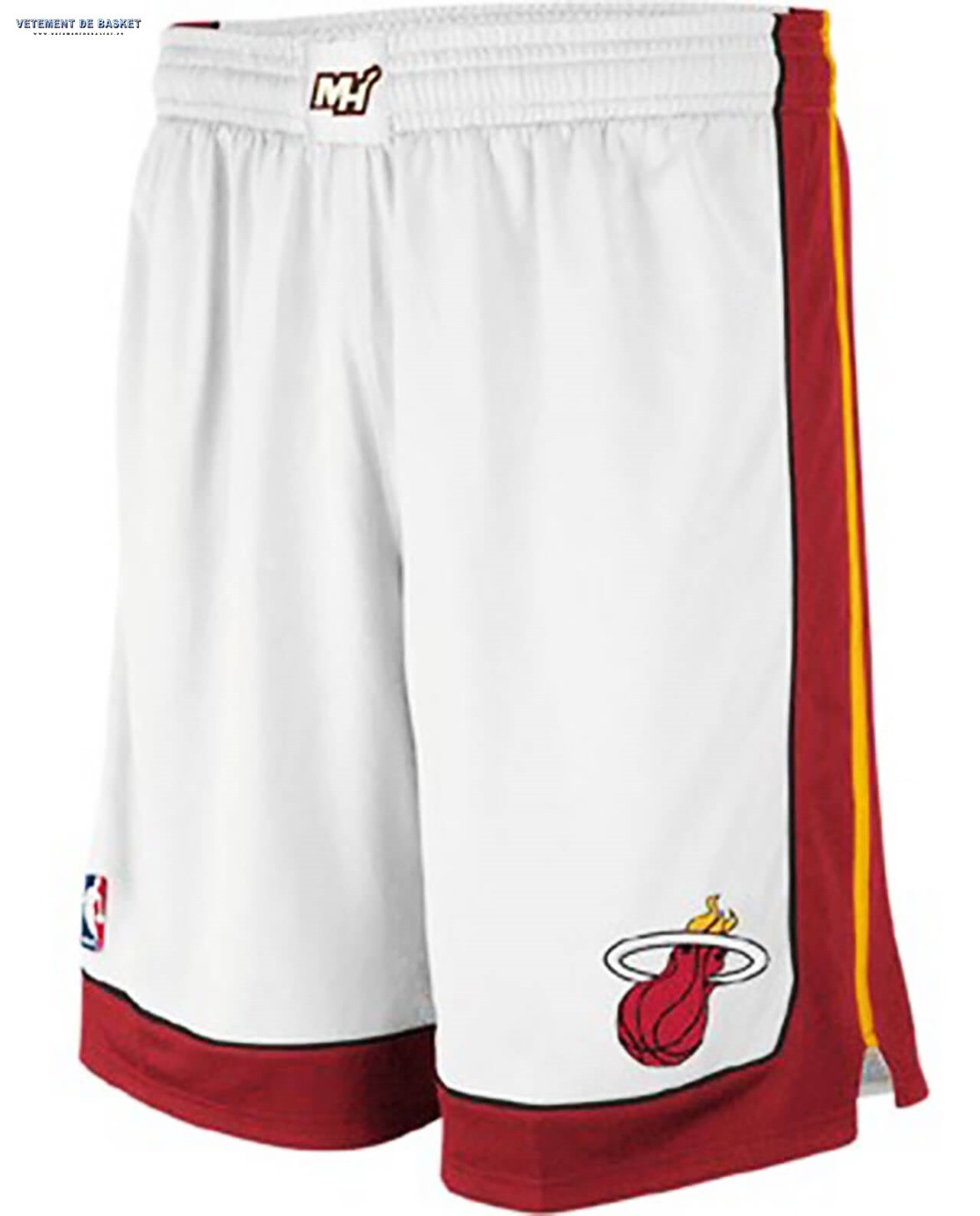 El Nuevo Pantalon NBA Miami Heat Blanc Association
