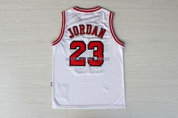 Maillot NBA 1998 All Star NO.23 Michael Jordan Blanc