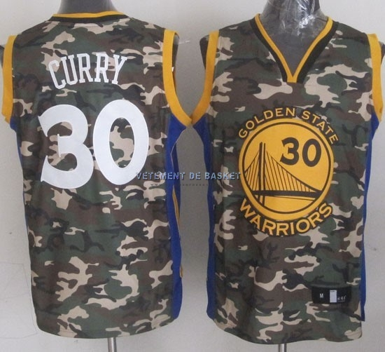 Maillot NBA 2013 Camouflage Fashion NO.30 Curry