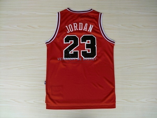 Maillot NBA Chicago Bulls NO.23 Michael Jordan Retro Rouge