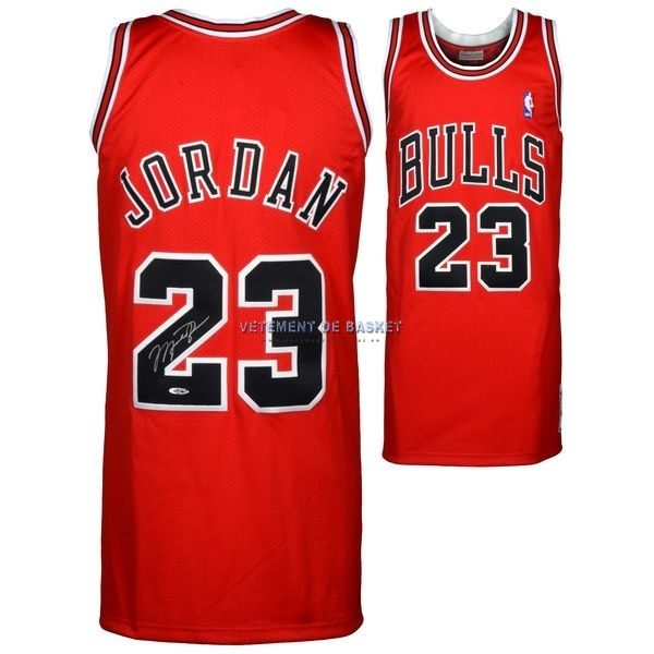 Maillot NBA Chicago Bulls NO.23 Michael Jordan Rouge