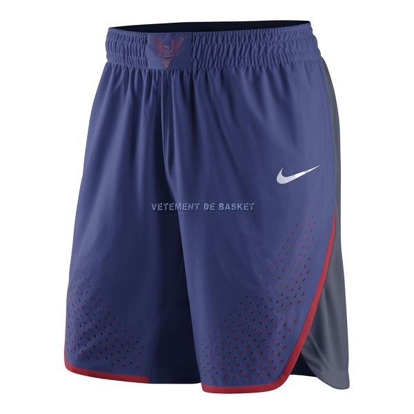 Short Basket 2016 USA Bleu