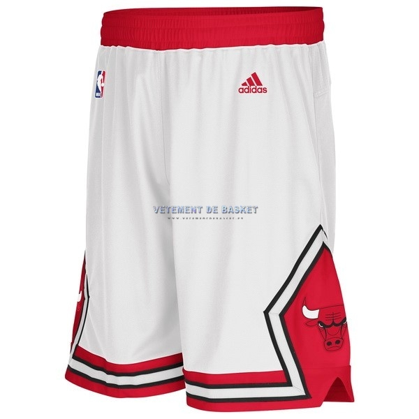 Short Basket Adidas Chicago Bulls Blanc
