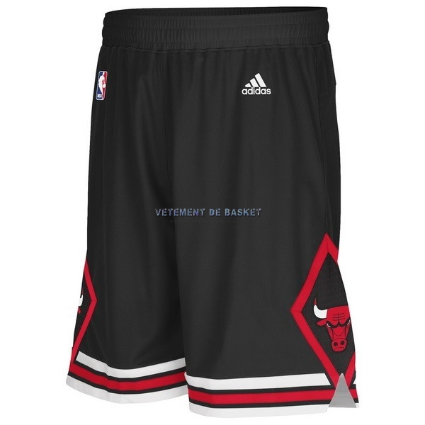 Short Basket Adidas Chicago Bulls Noir