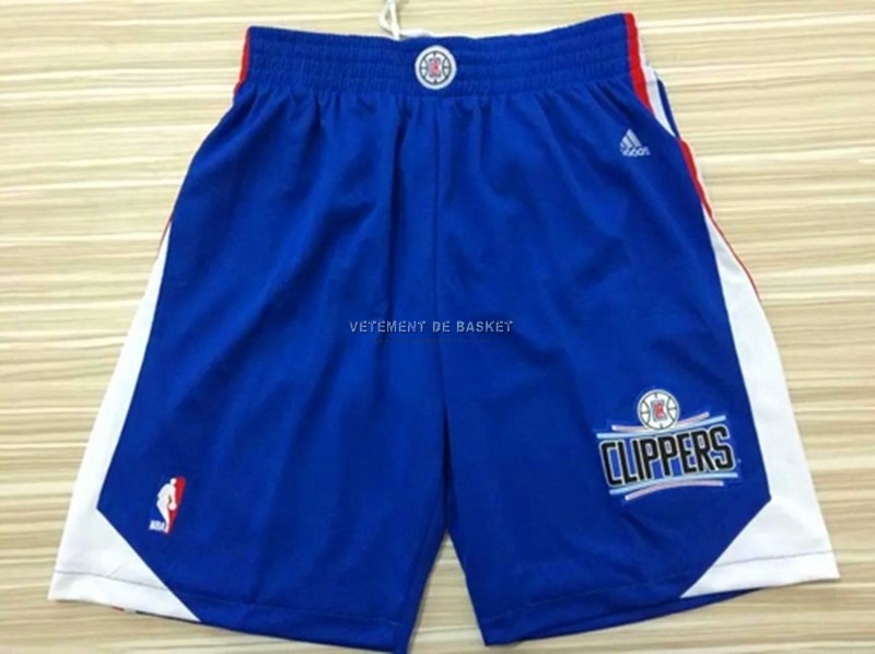 Short Basket Los Angeles Clippers Bleu