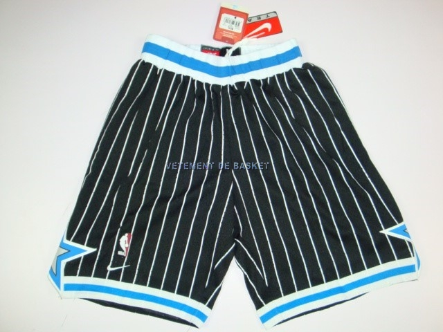 Short Basket Orlando Magic Noir
