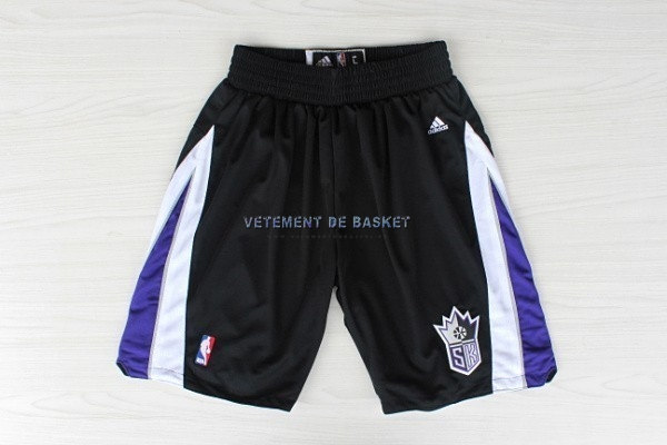 Short Basket Sacramento Kings Noir