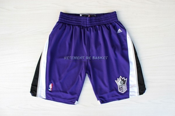 Short Basket Sacramento Kings Pourpre