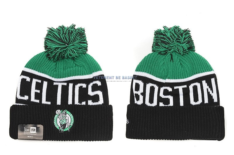 Tricoter un Bonnet 2017 Boston Celtics Noir
